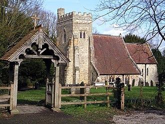 Bodiam - St Giles church