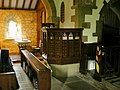 St Mary the Virgin, Oxenhope, Pulpit - geograph.org.uk - 1654668.jpg