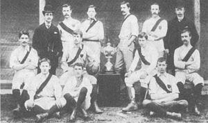 History of Southampton F.C. - Image: St Marys YMA 1887 1888