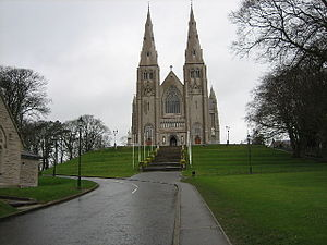 St Patrick's Cathedral, Armagh - geograph.org.uk - 121762.jpg