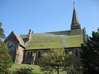 St Pauls Church, Helsby Church in Cheshire, England