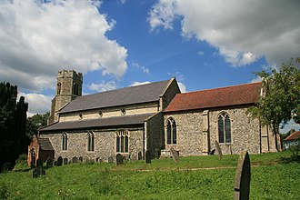 Billingford, Breckland - Image: St Peter's church Billingford Norfolk (2335130400)