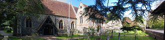 Cranbourne, Berkshire - St Peters Church, Cranbourne, Berkshire, UK