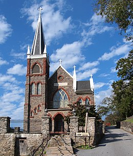 St Peters church -Harpers Ferry, West Virginia, USA-30Sept2011.jpg