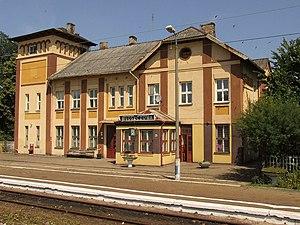 Włoszczowa - Train station