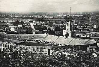 1934 FIFA World Cup - Image: Stadio Littoriale Bologna