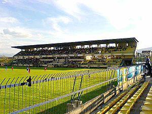 Ecolog Arena - Image: Stadium Tetovo