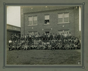 Stedman Machine Company - Stedman staff photo 1912