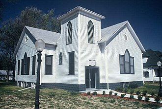 National Register of Historic Places listings in Stafford County, Kansas - Image: Stafford Reformed Presbyterian Church