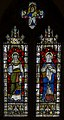 Stained glass window, St Mary's church. Battle (15729244540).jpg