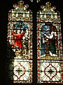 Stained glass window in St. Mary of Charity, Faversham - geograph.org.uk - 626243.jpg