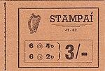 Stamp booklet Irl 1962 3 shilling.jpg