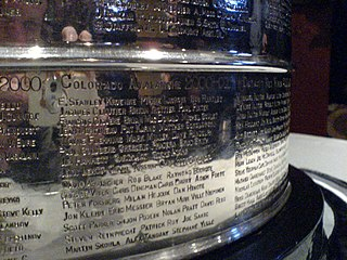 Chronology of Stanley Cup engravings Order in which the Stanley Cup received each of its engravings