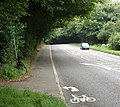 Start of cycle path on pavement into Gerrards Cross - geograph.org.uk - 910070.jpg