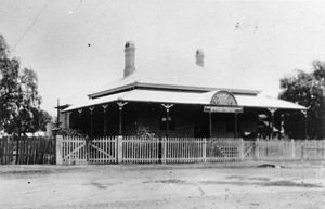 Inglewood, Queensland - The Commercial Banking Company of Sydney building, Inglewood, ca. 1925