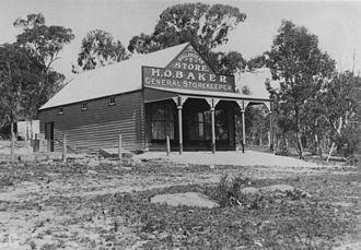 Ballandean, Queensland - General store at Ballandean, ca. 1920