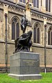 Statue of Captain Matthew Flinders outside St. Paul's Cathedral, Melbourne 2017-10-28.jpg