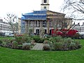 Statue of King Alfred the Great, Trinity Church Square, Southwark in March 2011 03.jpg
