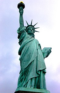 An analysis of the symbol of statue of liberty in america
