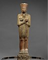 Statue of Nebhepetre Mentuhotep II in the Jubilee Garment MET DT11494.jpg