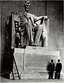 Statues of Abraham Lincoln. Lincoln Memorial (1922) (14591486689).jpg