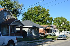 Lincoln Heights, Ohio - Houses on Steffen Avenue