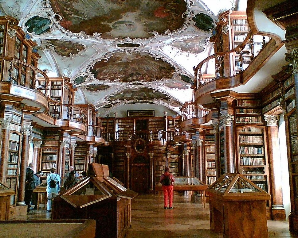 Stiftsbibliothek St. Gallen 1