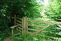 Stile on a footpath west of High House Lane - geograph.org.uk - 1357970.jpg