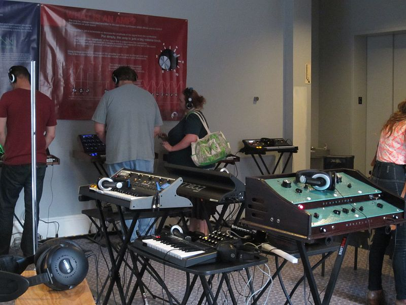 File:Still life with synths @ moogfest 2012.jpg