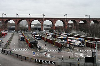Stockport bus station