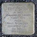 Stolperstein Behrenstr 55–57 (Mitte) Fritz Spira.jpg