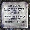 Stolperstein Bornepfad 4 (Hermd) Max Bukofzer.jpg