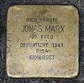 Stolperstein Jonas Marx, Gescher Hauptstraße 35.jpg