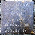 Stolperstein Köln, (Nr. 174) Rommni (Peterstraße 31).jpg