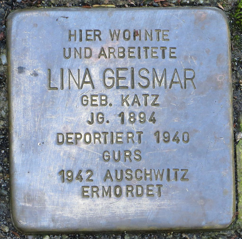 Stolperstein Lina Geismar Baden-Baden.jpg