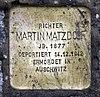 Stolperstein Magdeburger Platz 1 (Tierg) Martin Matzdorf.jpg
