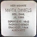 Stolperstein für Marta Daniels (Alte Krefelder Straße 39)