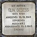 Stolperstein für Elia Gesess (Padua).jpg
