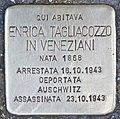 Stolperstein für Enrica Tagliacozzo in Veneziani (Rom).jpg
