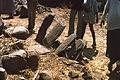 Stone seat backs, Iwol, Southeast Sénégal (West Africa) (2861625568).jpg