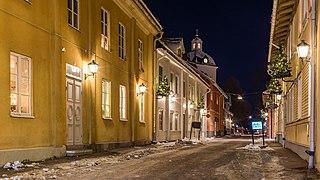 Säter Place in Dalarna, Sweden