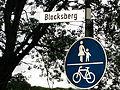 Straßenschild Blocksberg (Flensburg), Bild 02.JPG