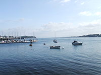Strangford Lough from Portaferry, looking towards the narrows.JPG