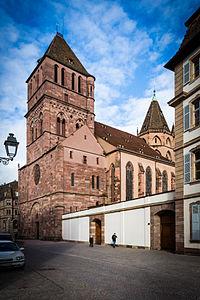Strasbourg Église St Thomas janvier 2015.jpg