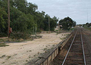 Strathmerton railway station