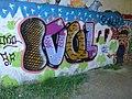 Street art sous le pont du TGV passant au-dessus de la Marsange, à Presles-en-Brie (1) - panoramio.jpg