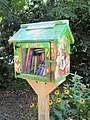Street book exchange Little Free Library Bennett Park Hudson Heights Manhattan.jpg