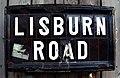 Street sign, Lisburn Road - geograph.org.uk - 1119525.jpg