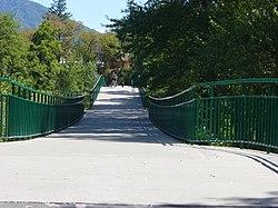 Stressed Ribbon Bridge Wikipedia