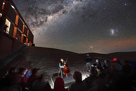 Ma performance at Paranal Observatory, home of the Very Large Telescope. Strings by Starlight.jpg